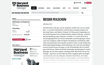 Besser Feilschen (Harvard Business Manager)