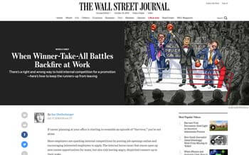 When Winner-Take-All Battles Backfire at Work (The Wall Street Journal)